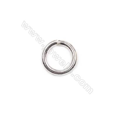 Wholesale fashion bracelet necklace findings 925 sterling silver open jump ring 1.5x9mm  30pcs/pack
