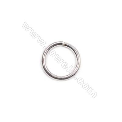 Wholesale fashion bracelet necklace findings 925 sterling silver open jump ring 1.5x12mm  20pcs/pack
