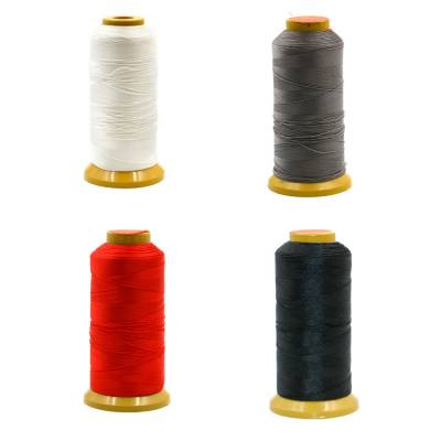 Round Multicolored Nylon Threads  Three shares thread  Wire Diameter 0.2mm  1080 Meters / roll