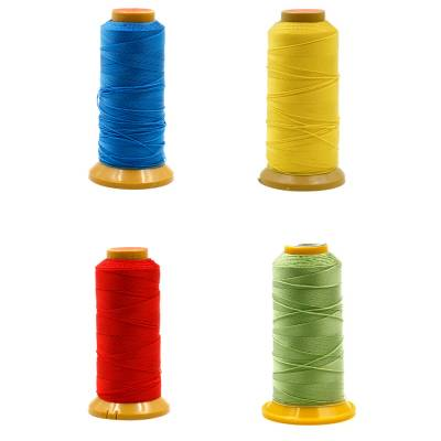 Round Multicolored Nylon Threads  Nine shares thread  Wire Diameter 0.6mm  350 Meters / roll