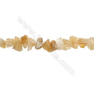 "Natural Citrine Bead Strands  Nuggets  Size 14~18x11~17x8~16mm  Hole 1mm  15~16""/strand"