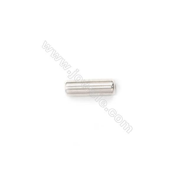 925 Sterling Silver Screw Clasp, 3x10mm, x 15 pcs