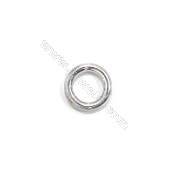 Sterling silver 925 spring ring clasp, 17mm, x 5 pcs