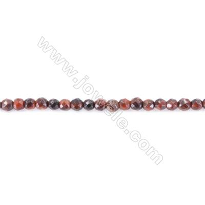 Natural Red Tiger Eye Beads Strand  Round  diameter 2mm   hole 0.4mm   about 180 beads/strand 15~16''