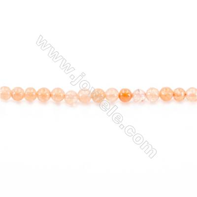 Dyed Malaysian Jade Beads Strand  Round  diameter 2mm  hole 0.4mm  15~16''