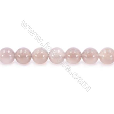Natural Grey Agate Beads Strand  Round  diameter 14mm  Hole: 1.5mm  about 28 beads/strand  15~16''