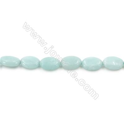 Natural Amazonite Beads Strands  Oval   Size 8x12mm  Hole: 1mm  about 33 beads/strand  15~16''