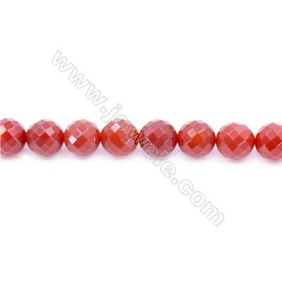 Natural Red Agate Beads Strand  Round  Diameter 14mm  Hole: 1.5mm  about 28 beads/strand 15~16''