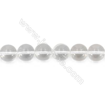 """Natural Rock Crystal Beads Strand  Round  Diameter 16mm  hole 1.5mm  about 25 beads/strand 15~16"""""""