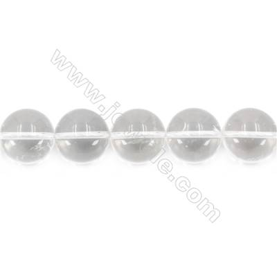 """Natural Rock Crystal Beads Strand  Round  Diameter 18mm  hole 1.5mm  about 21 beads/strand 15~16"""""""