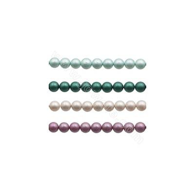 14mm Matte Shell Pearl...