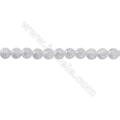 Crackle Quartz Beads Strand  Round  Diameter 8mm   hole 1mm   about 54 beads/strand 15~16''