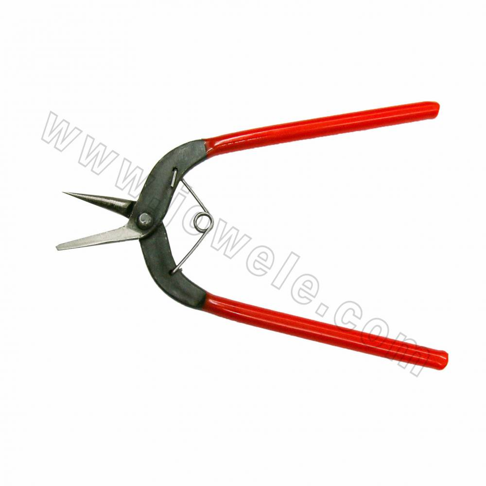 Jewelry Pliers, Alloy Wire cutter Pliers, Red, Size 162x42mm, 12pcs/pack
