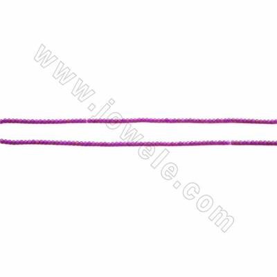 "Natural Kunzite Beads Strand, Round, Size 2mm, Hole 0.4mm, 15~16""/strand"
