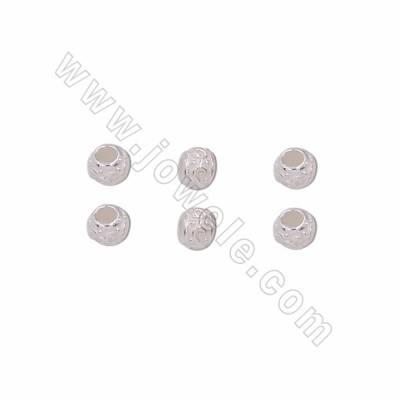 925 Sterling Silver Round...