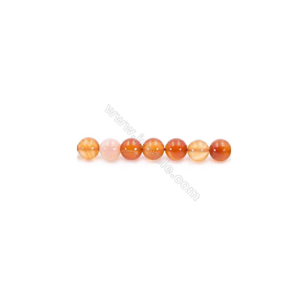 """Natural Carnelian Beads Strand  Round  Diameter 12mm  hole 1.5mm  about 33 beads/strand 15~16"""""""