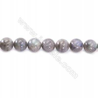 Natural Labradorite Beads Strand  Round  Diameter 14mm  hole 1.5mm  about 28 beads/strand 15~16""