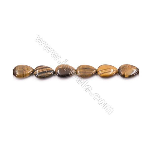 "Pink 13x18mm Pink Morganite Oval Flat Gemstone Loose Beads 15/"" Strand"