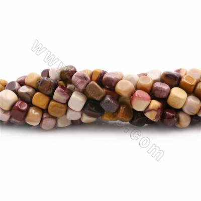 "Natural Mookaite Beads Strands, Nugget, Size 6x10~6x7mm, Hole 1mm, 15~16""/strand"