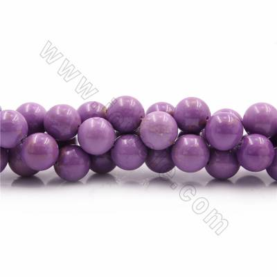 "Natural Phosphosiderite Beads Strands, Round, Diameter 13mm, Hole 1mm, 15~16""/strand"