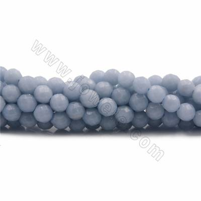 Natural Blue Angelite Beads...