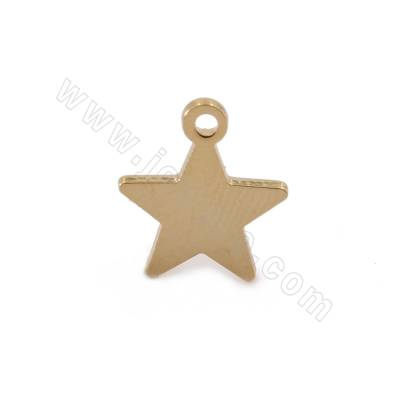 Brass Pendants, Star, Real...