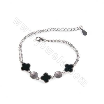 925 Sterling Silver with...