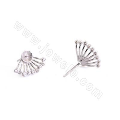 CZ 925 Silver Stud Earring...