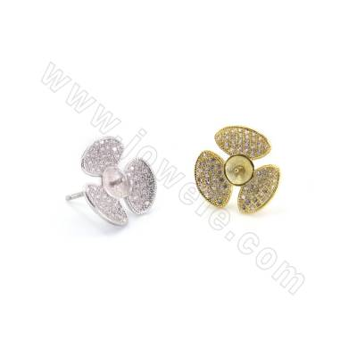 CZ 925 Sterling Silver Stud...