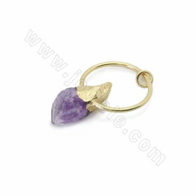 Irregular Natural Amethyst...