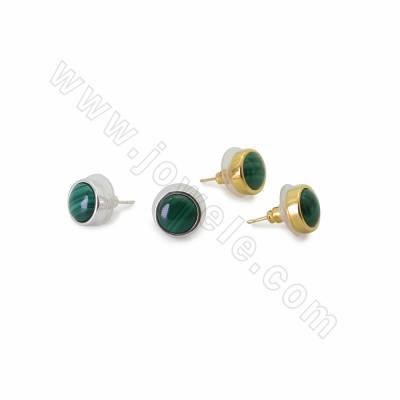 Natural Malachite Stud...