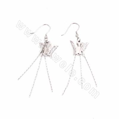 925 Sterling Silver Earring...