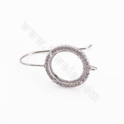 CZ 925 Sterling Silver Hook...