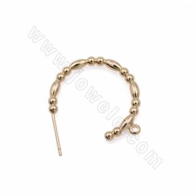 Brass Hoop Earring...