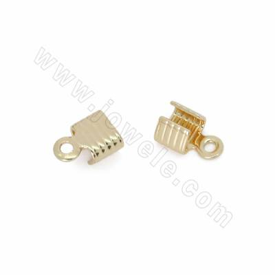 Brass Folding Crimp Ends,...