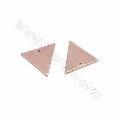 Brass Pendants, Triangle,...