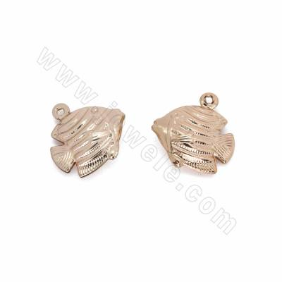 Brass Pendants, Fish,...