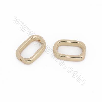 Alloy Beads, Rectangle,...