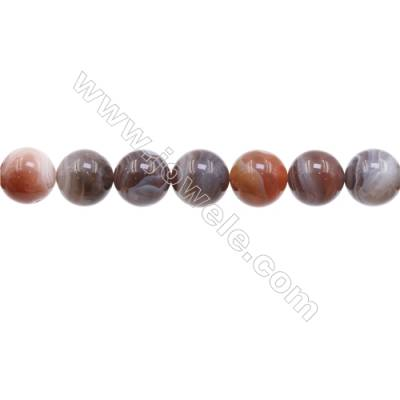 Natural Botswana Agate Beads Strand  Round  Diameter 14mm   hole 1.5mm   about 28 beads/strand 15~16''