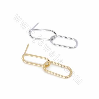 Brass Stud Earring...