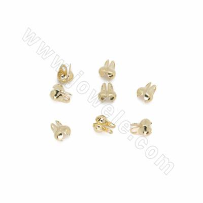 Brass Bead Tips Knot...