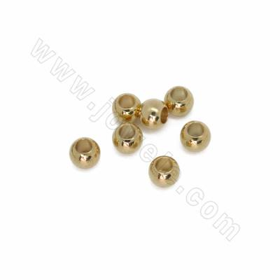 Brass Spacer Beads, Mini...