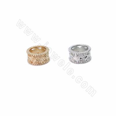 Brass Grand Hole Beads,...