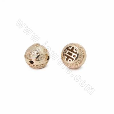 Brass 3-Hole Finding Beads,...