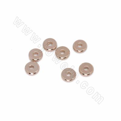 Brass Bead Spacers, Donut,...
