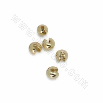 Brass Crimp Beads Covers,...