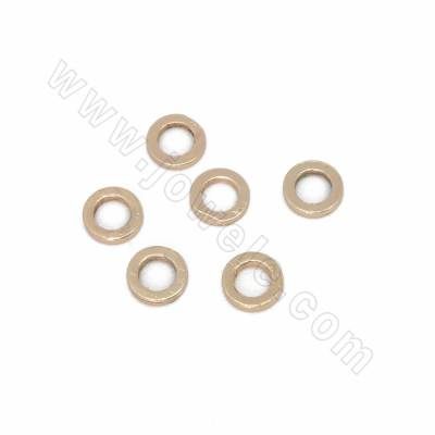 Brass Bead Spacers, Rose...