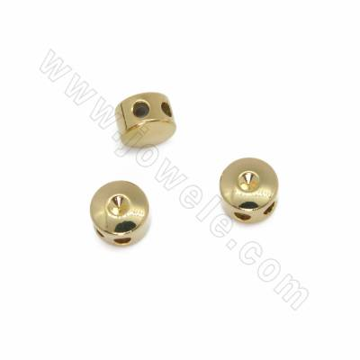 Brass Spacer Beads, with...