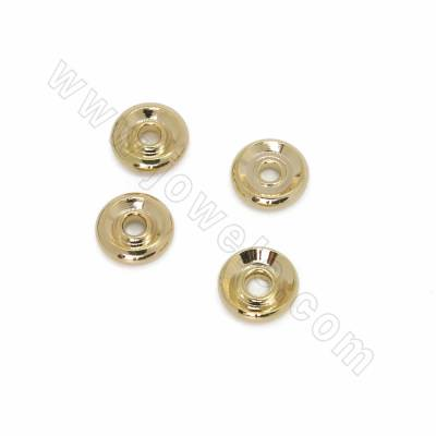 Brass Bead Spacers, Abacus,...