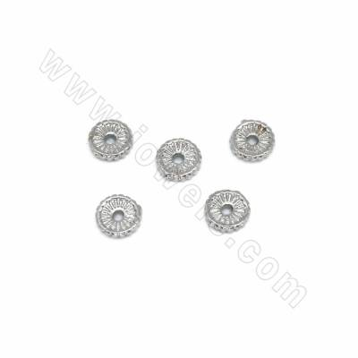 Brass Bead Spacers, Round,...
